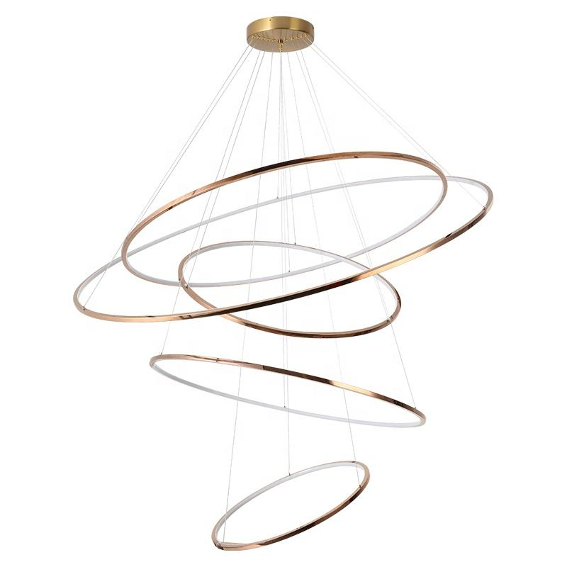 Modern LED Pendant Light Rings Pendant Light 40/60/100/120/150cm