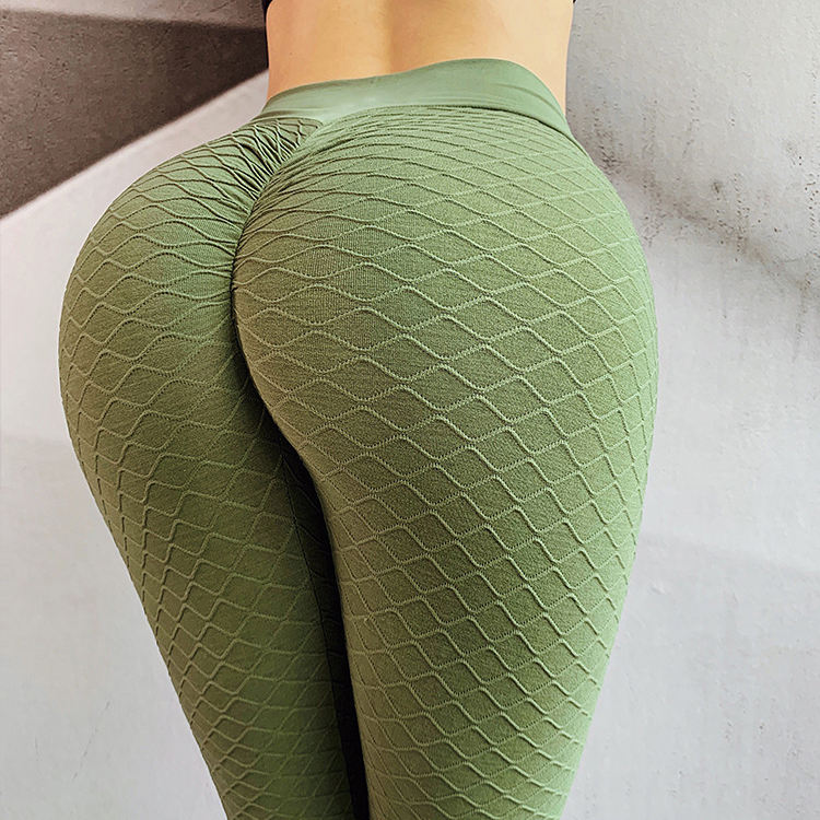 Womens gym leggings 3d brazilian scrunch butt yoga pants