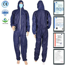 disposable coverall overall for light industrial cleaning