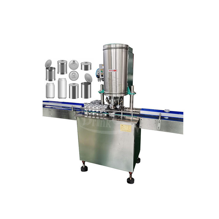 High Quality Automatic Can Seaming Machinery Metal Tin Can Sealing Machine