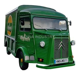2020 China Fabrik Versorgung Citroen Vintage H Van High-Speed Friteuse Nudel Citroen Mobile Lebensmittel Lkw