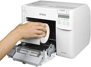 Inkjet color printer Epson C3520/C3500 labels pinters for label print packaging label printers