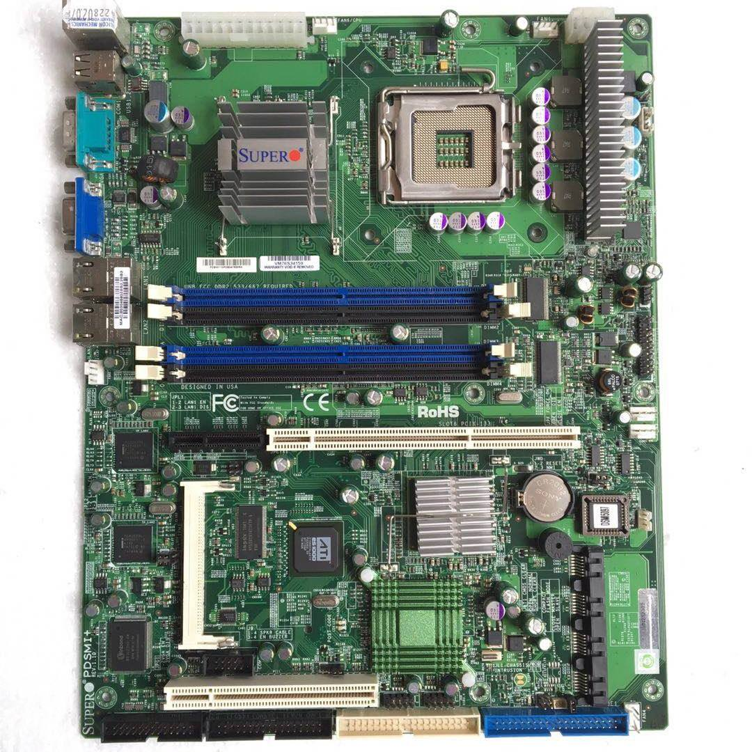 motherboard X6DH8-XG2 E7520 Xeon 604 Socket Extended ATX DDR2 Server Motherboard
