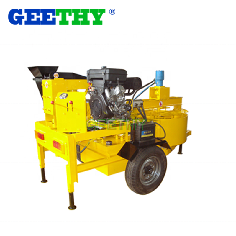 hollow block business philippines M7MI Super hand operated brick making machine for sale