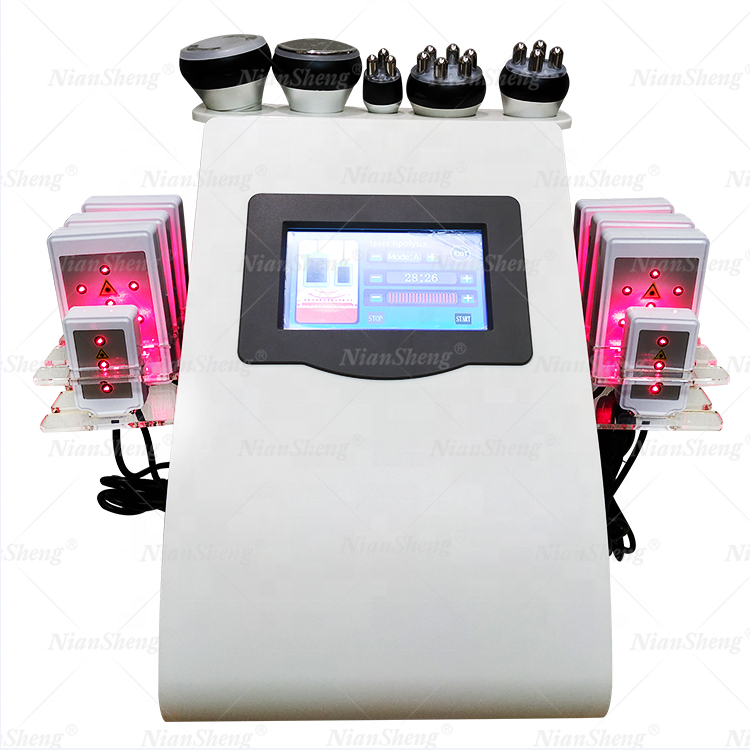Black Friday Deal Factory Price 6 in 1 High Quality Kim 8 New Ultra Cavitation Rf Vacuum Slimming Machine