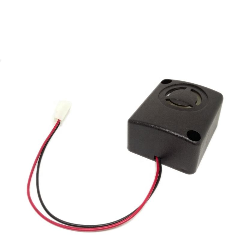 12V piezoelectric active buzzer siren alarm 47 * 39 * 23.5mm 100dB Piezo Buzzer with connector FSK-4839
