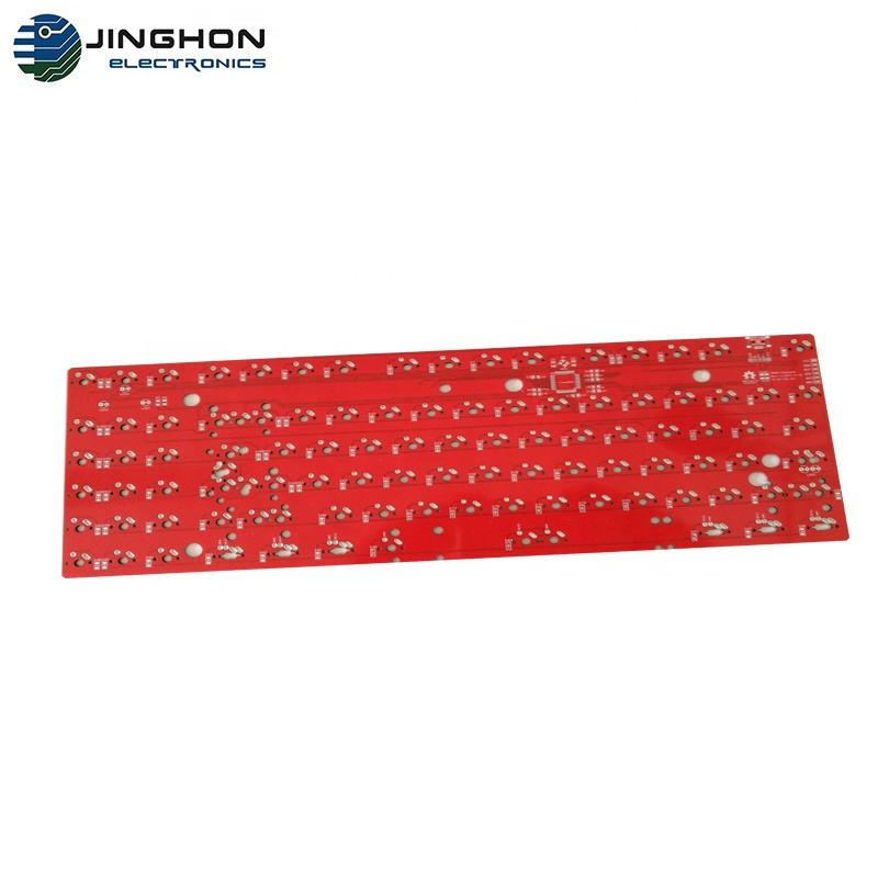 Customized Keyboards Red Pcb For Gaming Keyboard And Mechanical Keyboard