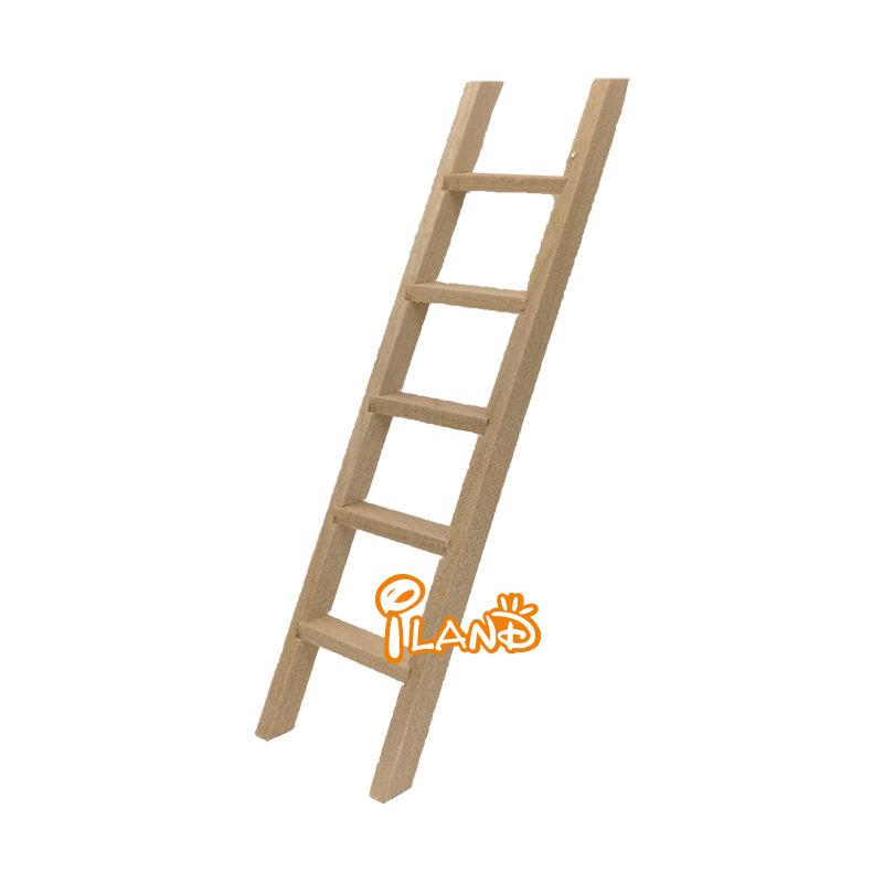 New 1:12 Dollhouse Miniature Furniture Wooden Ladder BSCA