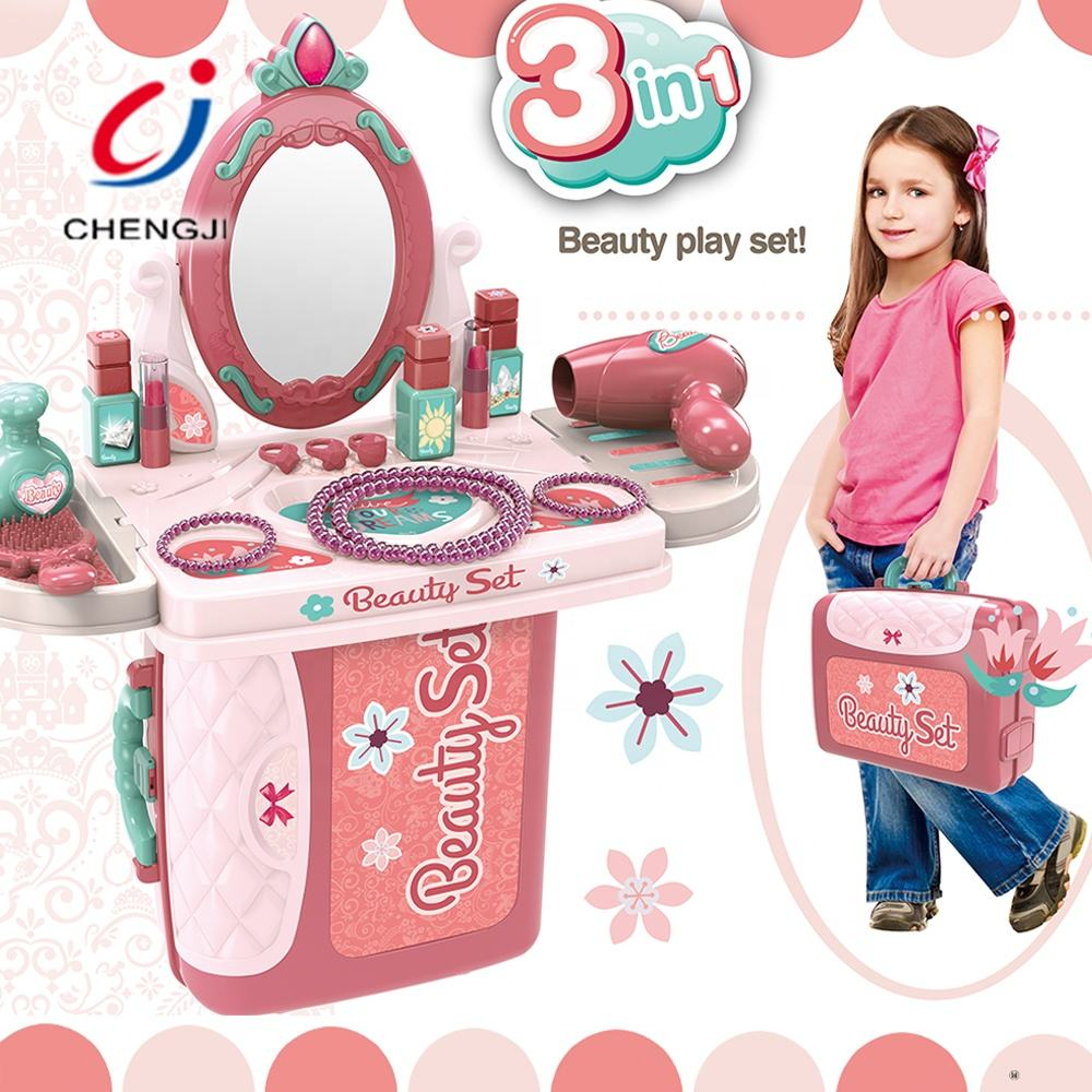 Kids Toys Child Smart Toys Kids Girl Cosmetics Wholesale Toy Games Kids Make Up Table