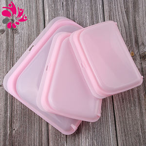 100% Food Grade Reusable Silicone Food Storage Bag Set