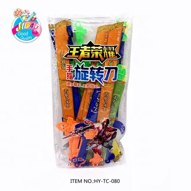 New Type Toy Sword Interesting Safe Plastic Colorful Rotating Knife Toy