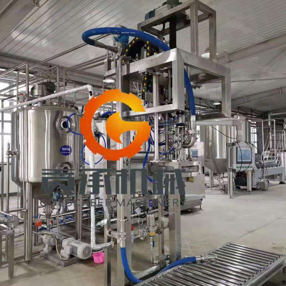 Aardbei Bosbessen Blackberry Fruit Puree Concentraat Productie Plant Machines