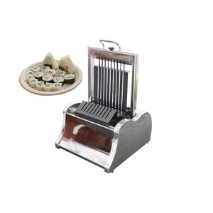 Stainless steel sushi roll cutter manual sushi roll cutter cutting machine
