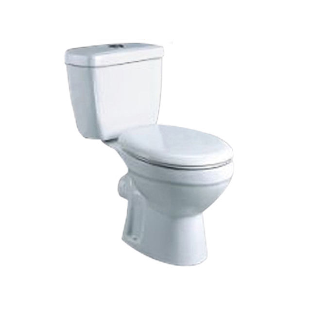 New Arrival Hotel WC Cheap bathroom two piece washdown toilet