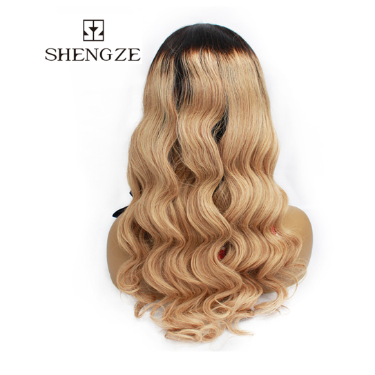 Body Wave High Quality Hair Wigs High Quality Ombre Color Body Wave Long Human Hair Wig