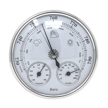 Analog Barometer Thermometer Hygrometer Wall Hanging Temperature Humidity Monitor Atmospheric Pressure Meter for Home use