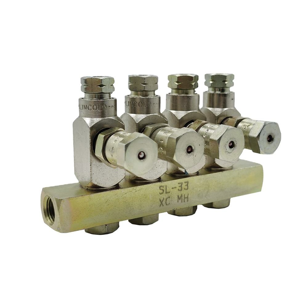 Lincoln Centro-Matic automatic lubrication systems grease injectors