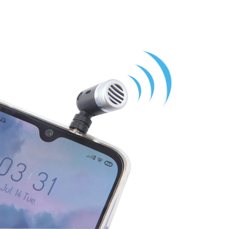 Professional phone mini wireless microphone for camera mobile phone DSLR Camera