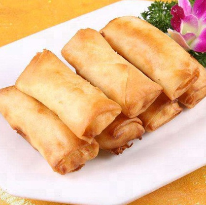 HALAL healthy food frozen spring roll pastry wrapper