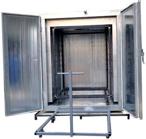 industrial electric powder coating drying oven
