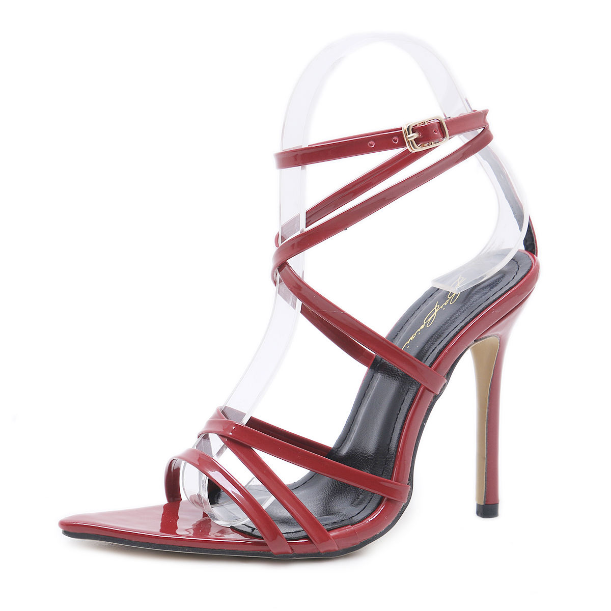 2021 Summer Vogue Sandales A Talons Colorful Trendy Sexy Ladies Pointed Toe High Heels for Women Stiletto Shoes