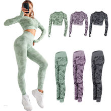 Hot Gym Sports Sportswear Fitness Yoga Sets Stretchable Sexy Spring