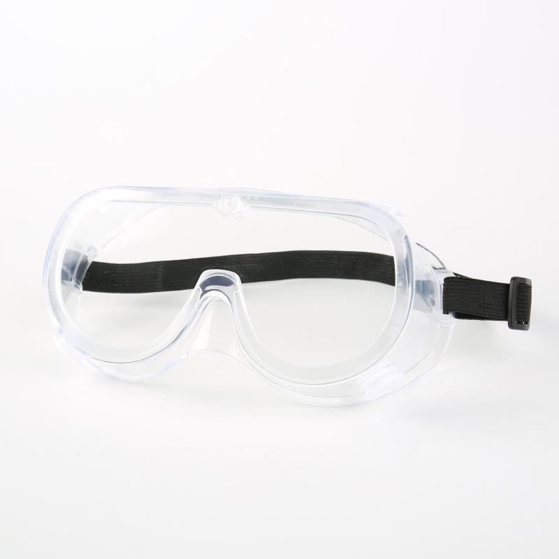 ANSI Z87.1 EN166 clear pc safety glasses goggles protective