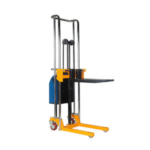 Stainless platform stacker semi electric stacker self lifting pallet truck