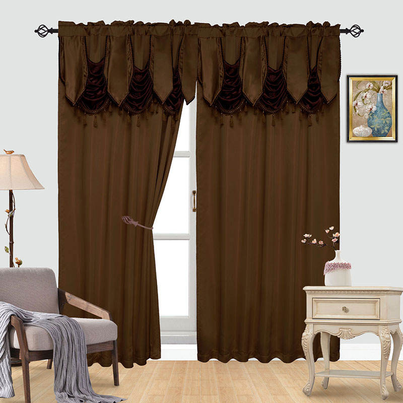Classic Modern Curtain Design Embroidery Sheer Curtain Design Arabic Curtain