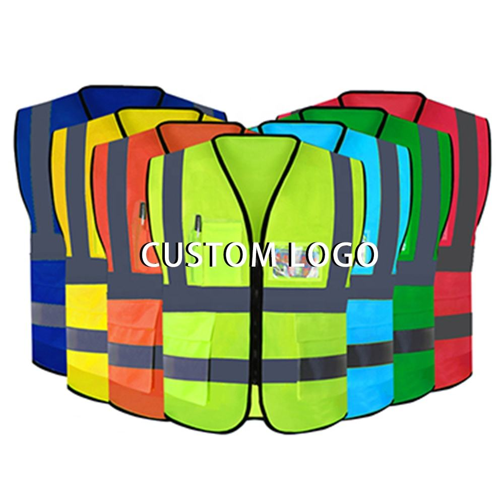 JARMOO High Quality Reflective Safety Vest With Custom Logo