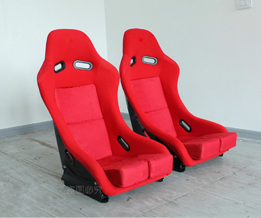 High quality Bucket Fixed Red Racing Seat Blue for sport car/UTV/ATV/VIOS/MAZDA/HONDA/VW/TOYOTA