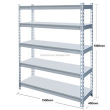 Easy-install height adjustable 5 layers metal storage shelf rack factory