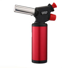 Professional plastic jet flame cooking culinary butane torch BS-620 gas lighter in bbq tools