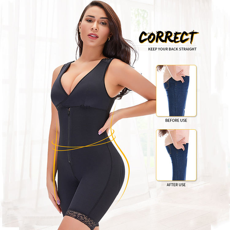 wholesale seamless shapewear , Women post surgery compression liposuction garment shaper