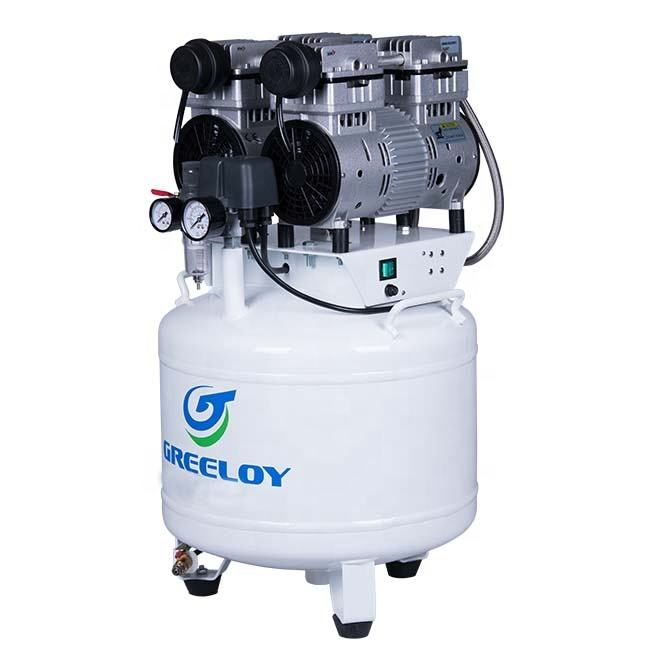Silent Vertical Air Compressor For Dental Office Use With CE
