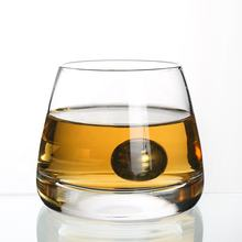 2019 unique  heavy crystal whiskey glass cup