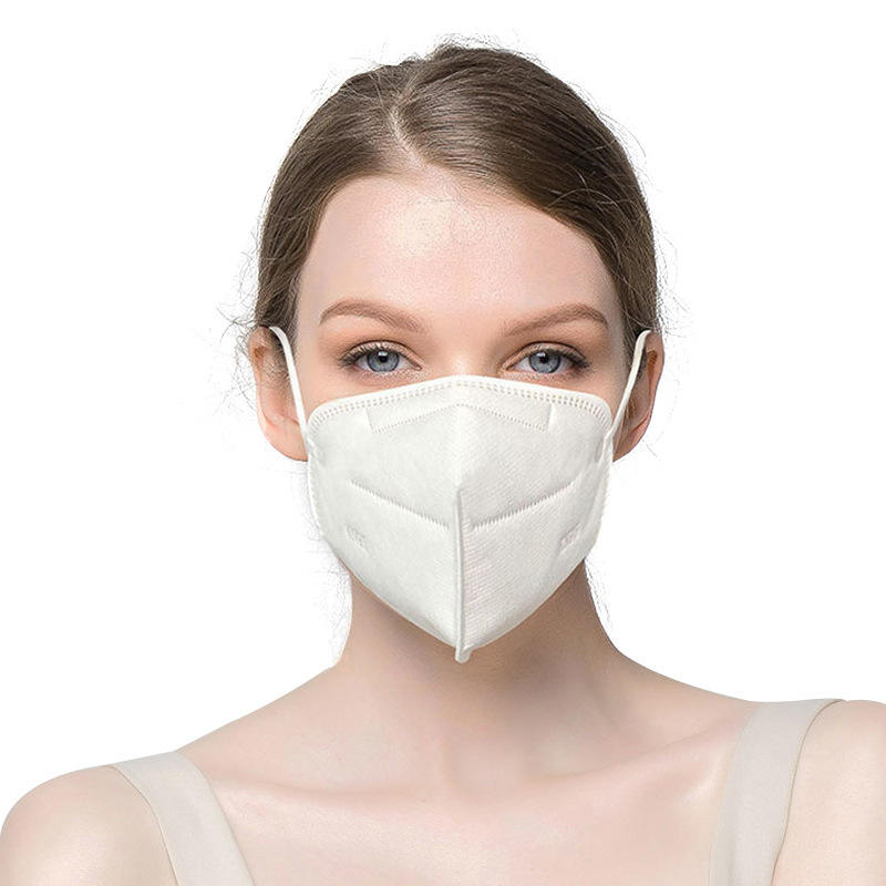 Low Price 5 Layers Meltblown Fabric KN95 Face Mask Protective FFP2 5 Ply Nonwoven Fabric Medical KN95 Mask For Personal Care