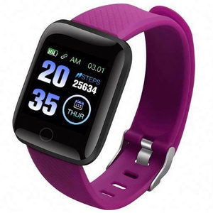 116 plus android reloj inteligente with heart rate blood pressure for mobile phones smart watch band