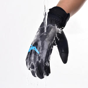 boodun OEM Winter Full Finger Cycling Running sport warm Gloves bicycle bike racing custom cycling gloves