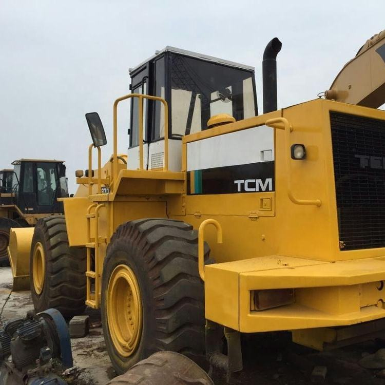 Used tcm 870 wheel loader, Japan tcm 820 830 870 wheel loaders for sale