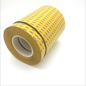Cina Produsen Tesa 4972 Jumbo Roll Mopp Merah Liner PET Tape Doble Sided Polyester Filmic Tape