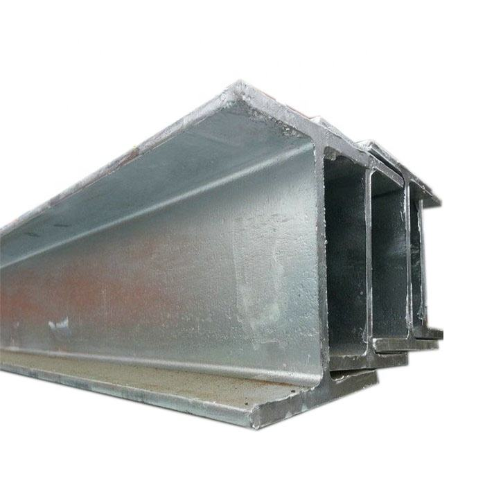 Metal Structural H Shape Hot Dip Galvanized Steel Beams for fence post