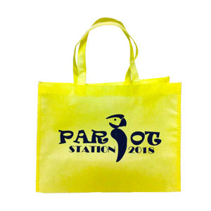 Custom recyclable ecological non woven tote bag grocery shopping bag