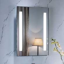 Hot Seller Rectangle Hospitality Lighted LED Bathroom Mirror