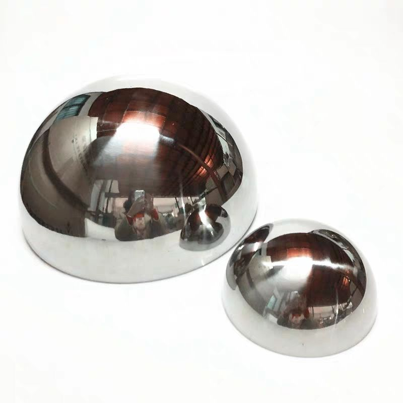 100mm aluminum hemisphere large metal half sphere