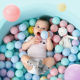 5 Colors Ocean Balls Colorful Fun Plastic Soft Balls for Ball Pit