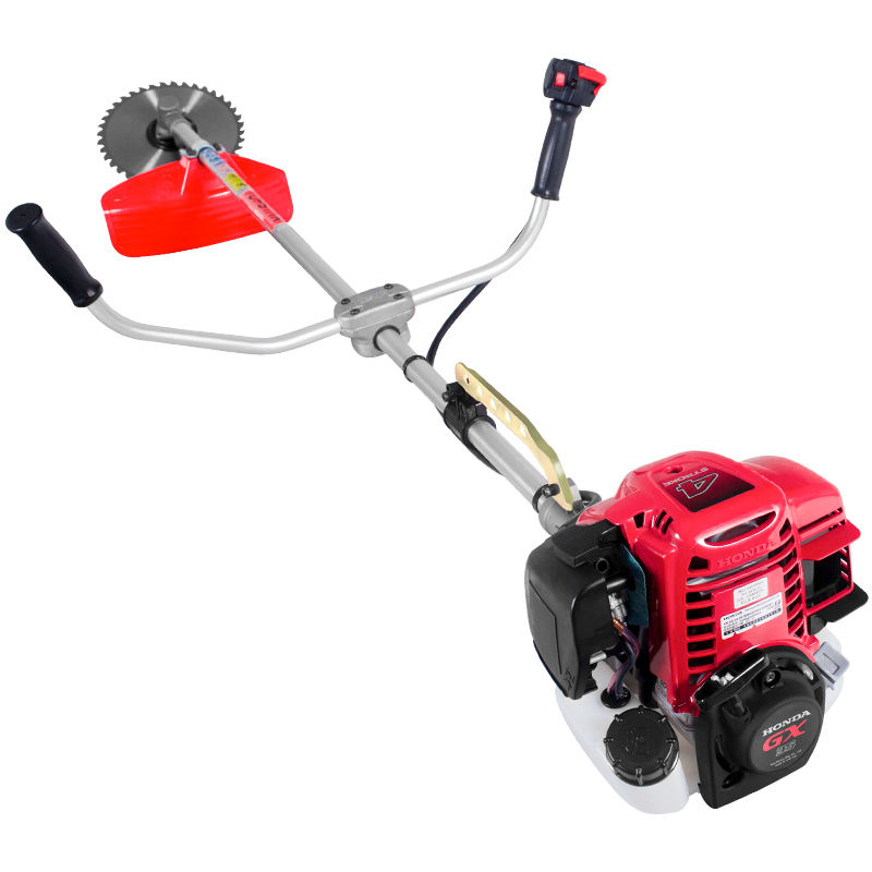 Gasoline Petrol Grass Eater Good Service Powerful 35.8cc 1.2KW 4 Stroke Honda GX35 Brush Cutter With Cultivator Grass Trimmer