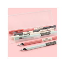 Special carbon black water signature pen with 0.5mm needle tip, fresh Korean ballpoint pen, cute creative stationery