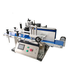 Stock available in Germany, USA, Russia automatic desktop round bottle sticker labeling machine