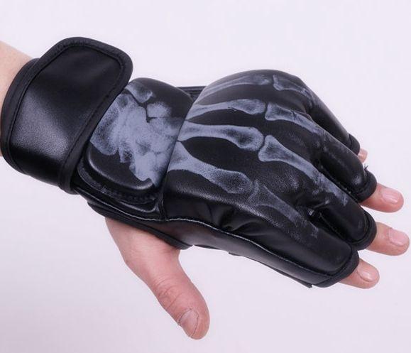 Split fingers boxing gloves